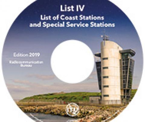 List IV - List of Coast Stations and Special Service Stations, 2019 ed.