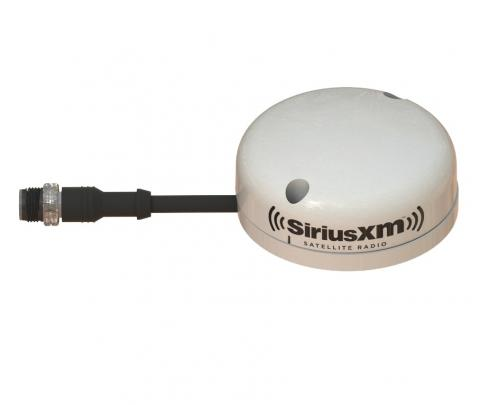 Áudio e Meteorologia Marítima WM-3 SiriusXM®