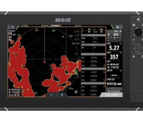 B&G Zeus³ 12 Mapa Base Mundial