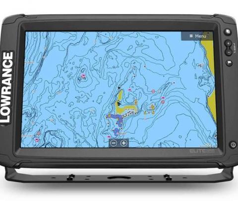 Elite-12 Ti² Touch completo com transdutor popa 3 IN 1 83/200/chirp alto/chirp médio/Down image/side image