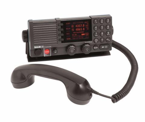 Rádio BLU MF/HF Sailor 6310 GMDSS DSC Classe A
