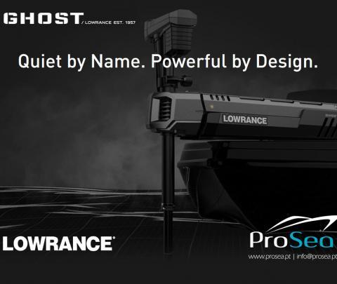 Motor elétrico Lowrance Ghost