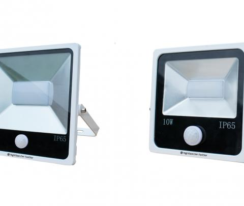 LED Security Light With Motion Sensor
