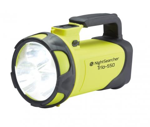 Trio-550 Rechargeable LED Searchlight