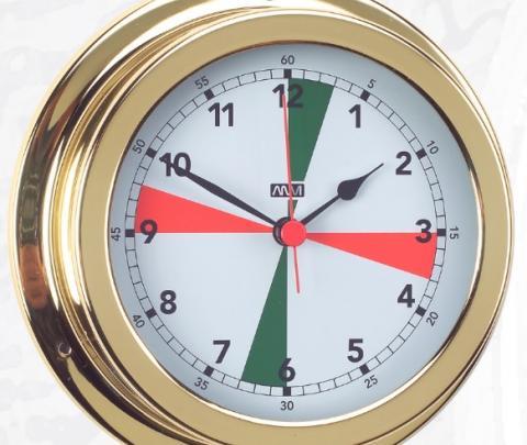 Relógio zonas de silêncio 150 mm