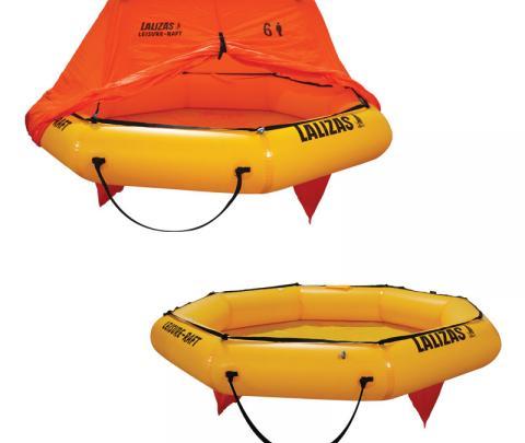 Jangada Salva-Vidas Leisure-Raft 4,6 pessoas