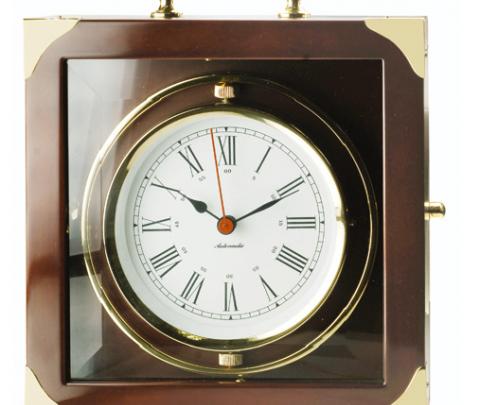 Cronometro CSQ em caixa madeira