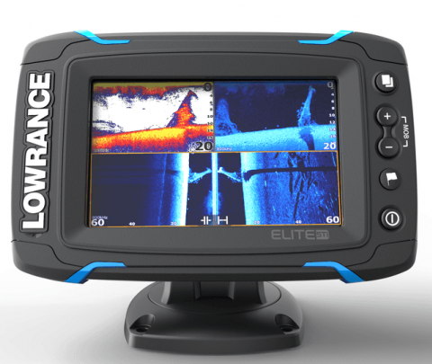 Lowrance Elite 5 Touch completo com transdutor popa HDI 83/200/chirp alto/chirp médio/Down image
