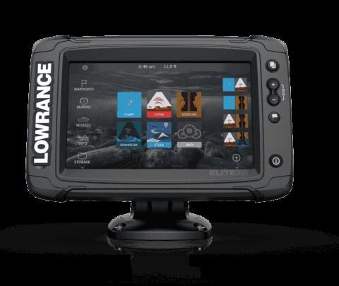 Lowrance Elite2 7 TI Touch sem transdutor