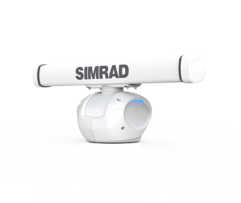 Simrad HALO-3 Pulse Compression Radar.