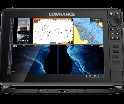 Lowrance HDS-12 Alive, sem transdutor
