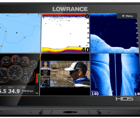 Lowrance HDS-16 Alive, sem transdutor