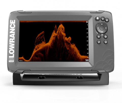 Lowrance GPS/Sonda HOOK2-7x Splitshot CE ROW