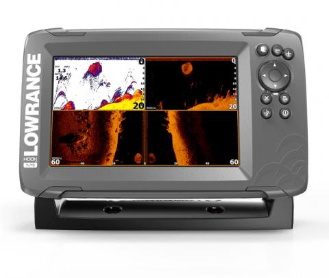 Lowrance GPS/Sonda HOOK2-7x Tripleshot CE ROW