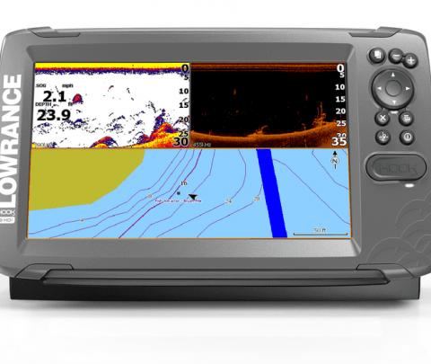Lowrance Sonda GPS Plotter HOOK2-9 SplitShot