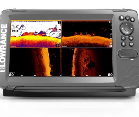 Lowrance GPS Plotter /Sonda HOOK2-9 TripleShot CE ROW