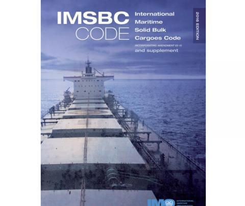 IMO IH260E IMSBC Code and Supplement (including Amendment 03-15), 2016 Edition