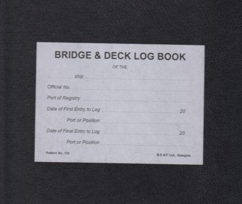 Brown's Bridge & Deck Log Book (No. 133)