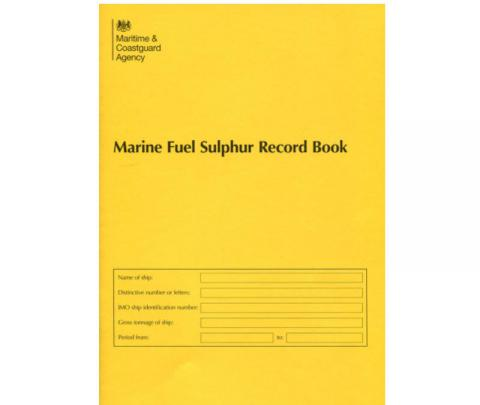 Marine Fuel Sulphur Record Book