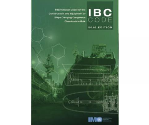 IMO ID100E IBC Code, 2016 Edition