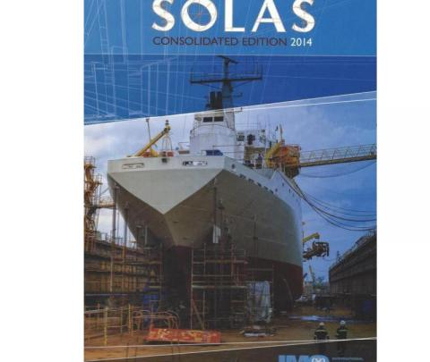 IMO IF110E SOLAS Consolidated Edition 2014