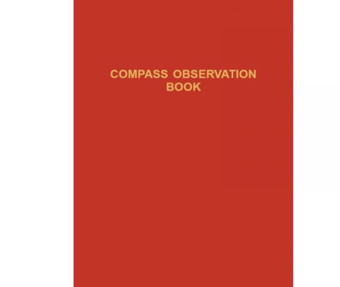 Compass Observation Book - No 30