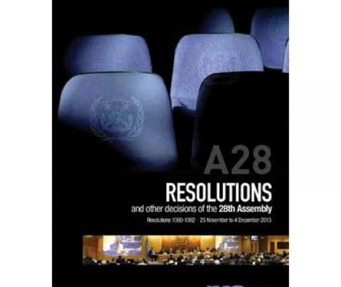 IMO I28E - Resolutions 1060-1092 and other decisions of the 28th Assembly