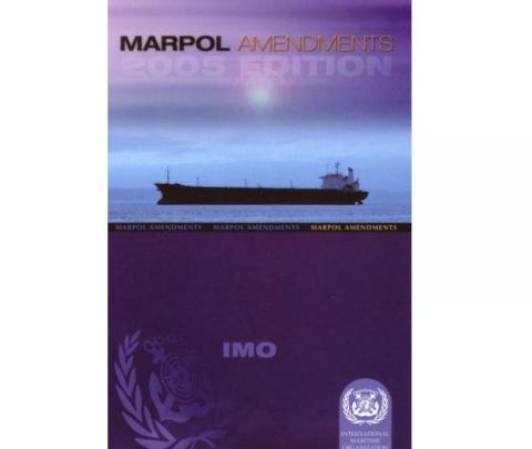 IMO I525E MARPOL Admendments 2005 Edition