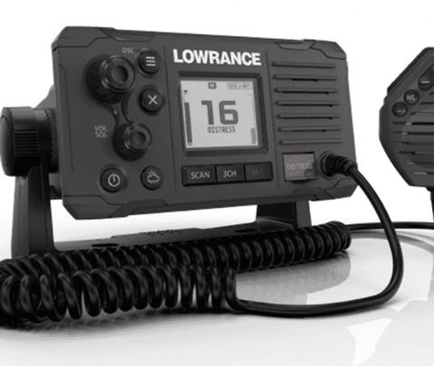 Lowrance VHF Fixo Link 6 25W Cinza