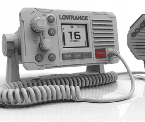 Lowrance VHF Fixo Link 6S 25W Cinzento