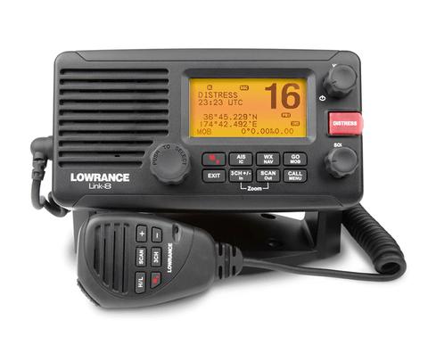 Lowrance VHF Fixo Link 8 25W com receptor AIS