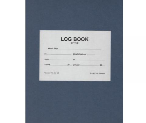 Log Book - No 120 -