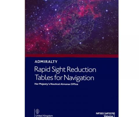 Rapid Sight Reduction Tables for Marine (NP303 volumes 1, 2 &3)