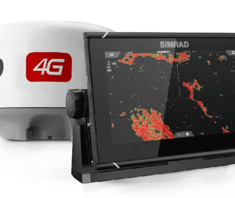 Simrad 9 NSSEVO3 + Radar 4G
