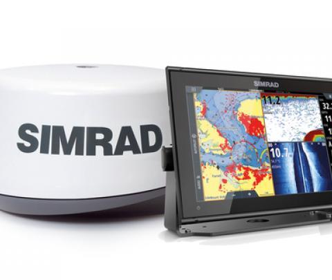 Simrad GO 12 XSR + Radar 3G