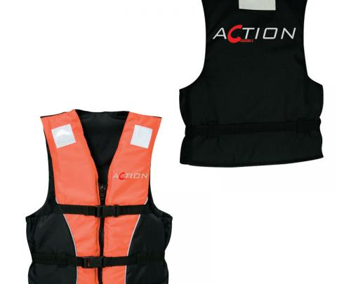 Colete de Salvação Action 50N, CE ISO 12402-5